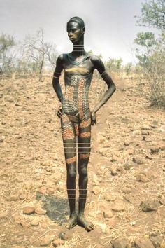66lanvin: teiq:  Mursi Man, Ethiopia original photo edited by: teiq  AFRICA is my DESCENT………..No.7