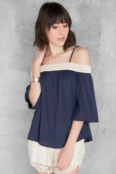 Jubilee Cold Shoulder Blouse #anthrofave