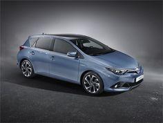 Novo Toyota Auris junta-se ao novo Avensis no palco do Salão Automóvel de Genebra 2015