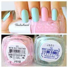 .@Heart D. | Back to pastel colors. #essie | Webstagram - the best Instagram viewer