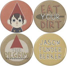 "Over the Garden Wall Wirt 2.25"" Pinback Buttons (4 Pack) by NerdyCatProductions on Etsy https://www.etsy.com/listing/160350861/over-the-garden-wall-wirt-225-pinback"