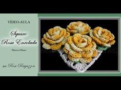 Square Rosa Enrolada - YouTube