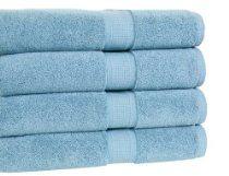 Calcot Growers Collection 100-Percent Zero-Twist Supima Cotton Bath Towel Set, Teal, 4-Piece Bath Towel Sets, Bath Towels, Tea Towels, Chocolate Covered Cherries, Bath And Beyond, Luxury Bath, Kids Bath, Fine Linens