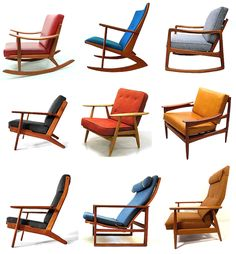 danish chairs = functional brilliance