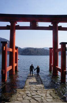 Hakone, Japan Hakone Shrine Lake Ashi