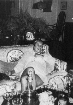 Pregnant Sharon Tate, shortly before her death in 1969.