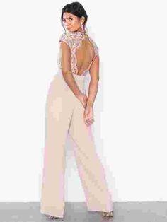 Shoppa TFNC Rerly Jumpsuit | Festkjoler - Nelly.com Tfnc, Jumpsuit, Pants, Dresses, Fashion, Overalls, Vestidos, Moda, Trousers