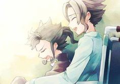 Pobre Victor (Tsurugi) el no quiere que su hermanito mayor pase por esto, se siente culpable, pero no puede hacer nada...