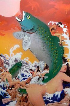 Nostalgia by Sush Machida Gaikotsu - Contemporary Japanese Art Collection by Jean Pigozzi
