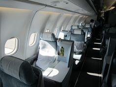 Finnair business class -
