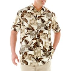 The Foundry Supply Co.™ Short-Sleeve Rayon Shirt–Big & Tall  found at @JCPenney