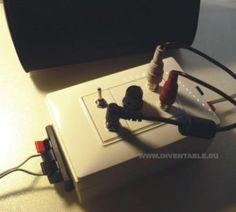Foto de amplificador ultracompacto Amplificador 12v, Headphones, Diy, Mario, German, Intercom, Car Audio, Car Audio, Bricolage