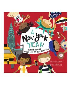 Loving this A New York Year Hardcover on #zulily! #zulilyfinds