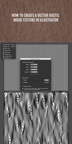 This tutorial by @medialoot will guide you step by step through the process that I personally like to use to create rustic looking, vector wood grain patterns in Illustrator. This is my preferred method because it doesn't rely on tracing bitmap textures, and the result is much more realistic than most other vector wood pattern effects.