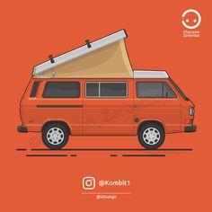 KombiT1: VW T3 @iithekgii Westfalia