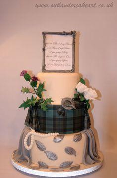 Outlander Cake Art Collaboration - cake by Nonie's - CakesDecor Diana Gabaldon Outlander Series, Outlander Tv Series, Outlander Meme, Outlander Wedding, 90th Birthday, Party Cakes, Fun Cakes, Love Cake, Cake Creations