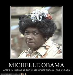 Funny Gallery Of Michelle Obama   Spew alert! Photo that is puke worthy. lol