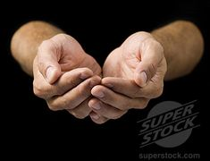 View top-quality stock photos of Closeup Of A Mans Cupped Hands. Hand Drawing Reference, Body Reference, Anatomy Reference, Photo Reference, Drawing Tips, Hand Holding Something, Chibi Hands, Photos Corps, Peace Sign Hand