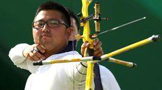 Kim Woojin, S.Korea, gold medal, archery team