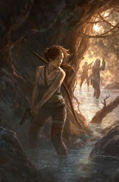 Tomb Raider Game, Lara Croft, Fan Art, Cosplay Tomb Raider Fans - learn how to get paid to blog about Tomb Raider - www.icmarketingfu...