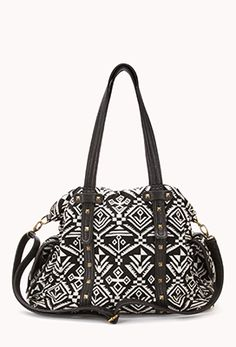 Southwestern Chinle Holdall (in Black / White).  - I have this bag!