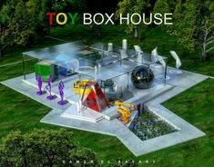 Box Houses, Our Legacy, Concept Architecture, Toy Boxes, Shapes, Toys, Outdoor Decor, Technology, Home Decor