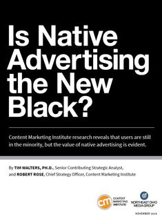 Native advertising: Fad or new standard?