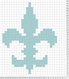 163 Best Fleur De Lis Mardi Gras Cross Stitch Images In