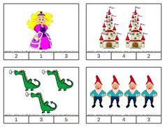 Fairy Tale Count & Clip Cards *Common Core Aligned*