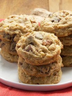 Triple Chocolate Nutty Peanut Butter Cookies | Bake or Break