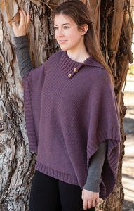 Knitting Pattern for Corallina Poncho