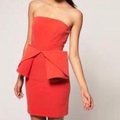 "Selling this ""Aq/Aq Asos Strapless Origami Mini Dress NWOT"" in my Poshmark closet! My username is: mrshljones. #shopmycloset #poshmark #fashion #shopping #style #forsale #ASOS #Dresses & Skirts"