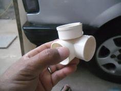 Desde que comecei a inventar peças em pvc o pessoal sempre me pedia para fazer um modelo de casinha de cachorro e também casinha de bonecas,...