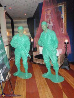 Plastic Army Men - Homemade costumes for men