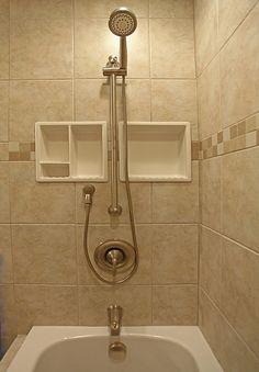 Bathroom Shampoo Soap Shelf Dish Shower Niche Recessed Tile Ceramic  Porcelain Corner Caddy Remodeling Canada
