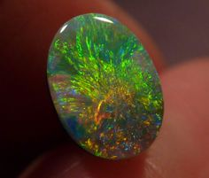 Eruption: Rare Asteria Starburst Pattern Lightning Ridge Picture stone Black Opal 0.7 Carat on Etsy, $1,400.00 AUD