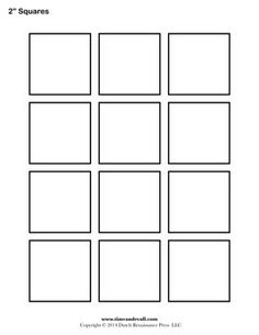 printable grid paper 1 inch