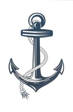 Bildergebnis für anchor tattoo vorlage … | Tattoo ...