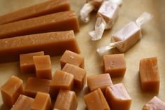 Chewy, buttery, sweet, smooth, delicious caramels.  I can't tell you how long I've thought about making these.  I often make fudge and toffee for holiday gifts so caramels were a natural next step.  They are sort-of half way between fudge and toffee with a very similar cooking process.  And candy making is much easier than …