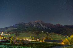 Der #Nachthimmel über #Leogang. #puradies #nightsky #starrynight #austria