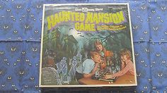 THE HAUNTED MANSION LAKESIDE BOARD GAME VINTAGE 1975 SEALED DISNEY RARE PLUS PIN (10/02/2014)