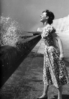 """""""I couldn't quite fathom that she was real. There were so many paradoxes in that face. Darkness and purity; depth and youth; stillness and animation. She had a fresh new look, a beauty that was ethereal."""" - Anthony Beauchamp, early photographer of Audrey Hepburn."""