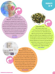 Products we Love: Joyful Pregnancy CD/ Love chai tea/  Mother to be package at Bindle ~ As seen in Empowering Birth Magazine Dec/ Jan CELEBRATION issue ~ now available on iPad, iPhone or PDF.