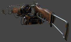 ArtStation - Shading and Texturing for Arc Gun: The order 1886, Yibing Jiang