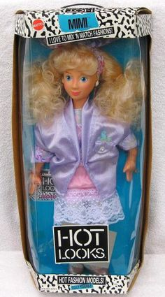 I had one just like this and I cut all of her hair off. I still have her somewhere.