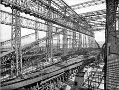 Construction of the Titanic, Belfast (photographer unknown)