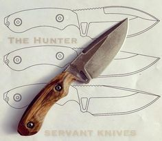 Handcrafted Knife The Hunter.