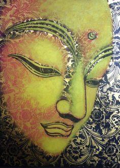 Buddha Painting                                                                                                                                                      Más