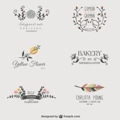 Floral business logos