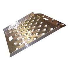 Curb Ramp, 750 Lbs, 26 7/8x27 by B & P Manufacturing. $163.85. Aluminum Curb RampsHandle slot doubles as a stop so that ramp stays in place. Curb RampsRaised edges and nonskid, open surface.Aluminum Curb Ramp, Portable, Load Capacity 750 Lb., Overall Length 26 7/8 In., Overall Width 27 In., Overall Height 1 1/2 In.
